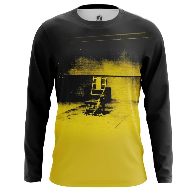 Collectibles Long Sleeve Electric Chair Andy Warhol Print