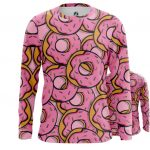 Merchandise Long Sleeve Doughnuts Donuts Art Inspired Food Pattern