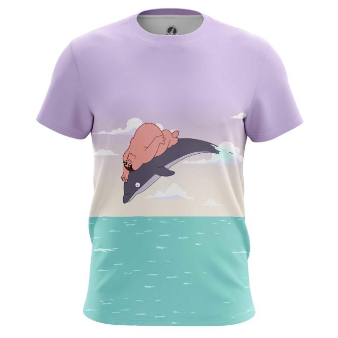 Merchandise T-Shirt Family Guy Dream Big Peter Griffin