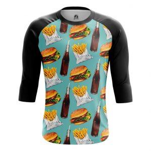 Merchandise Raglan Fast Food Burger Coke