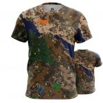 Merchandise T-Shirt Heroes Of Might And Magic 3 Map World Inspired