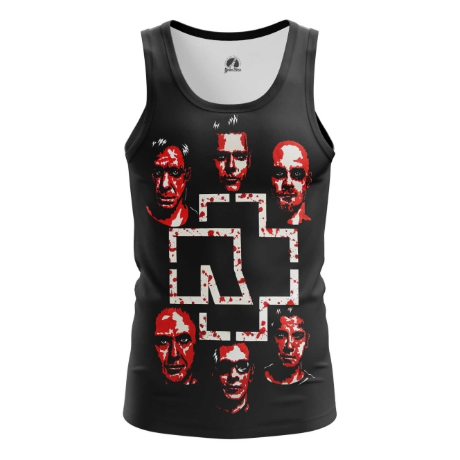 Collectibles Tank Rammstein Music Band Vest