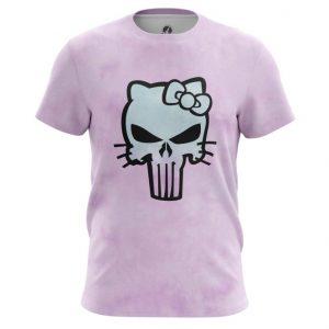 Merch Hello Kitty T-Shirt Punisher Marvel Pink