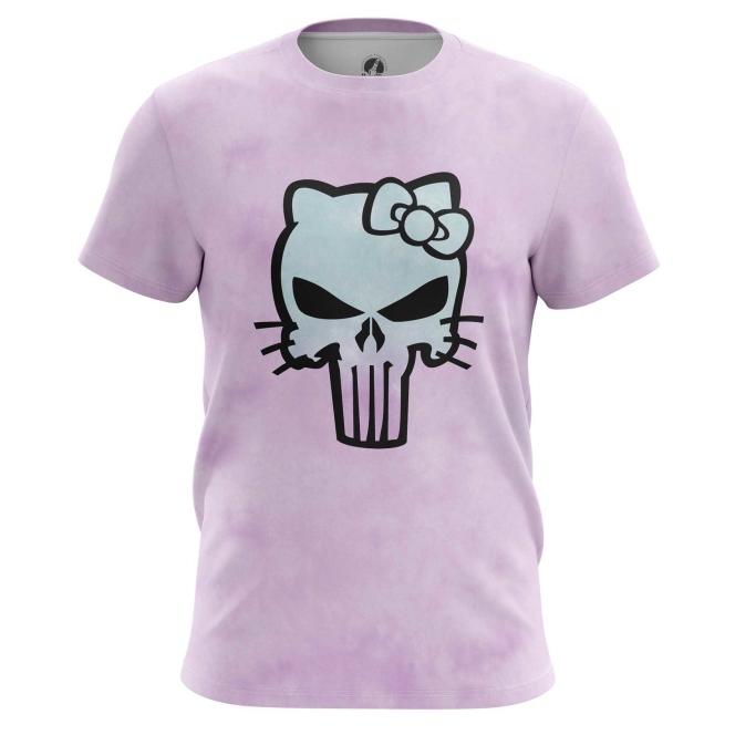 Merchandise Hello Kitty T-Shirt Punisher Marvel Pink