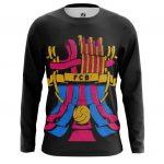 Merchandise Long Sleeve Fc Barcelona Fan Art Pattern Logo