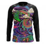 Merchandise Long Sleeve Dragon Trip Acid Art Paint