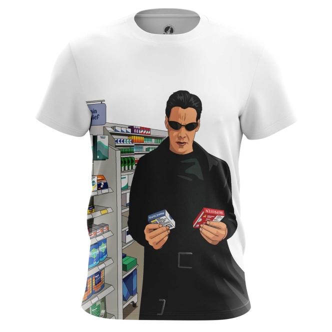 Collectibles T-Shirt Neo Matrix Blue Red Pills Pharmacy Fun