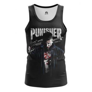 Merch Tank Punisher Netflix Version Inspired Clothing Vest