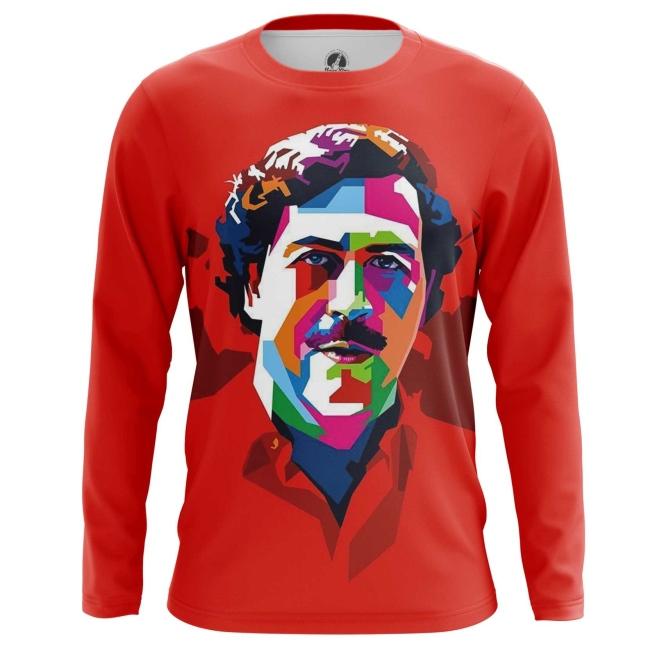 Collectibles Long Sleeve Pablo Escobar Pop Art Picture