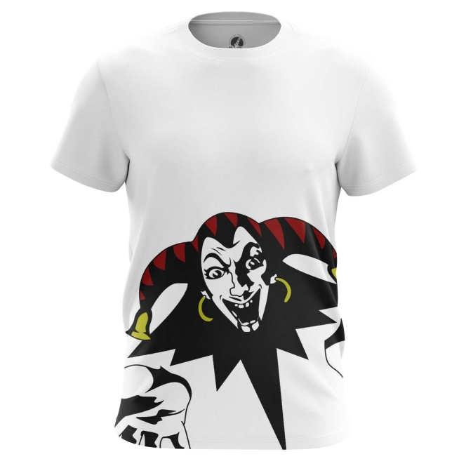 Merchandise Men'S T-Shirt Clown Harlequin