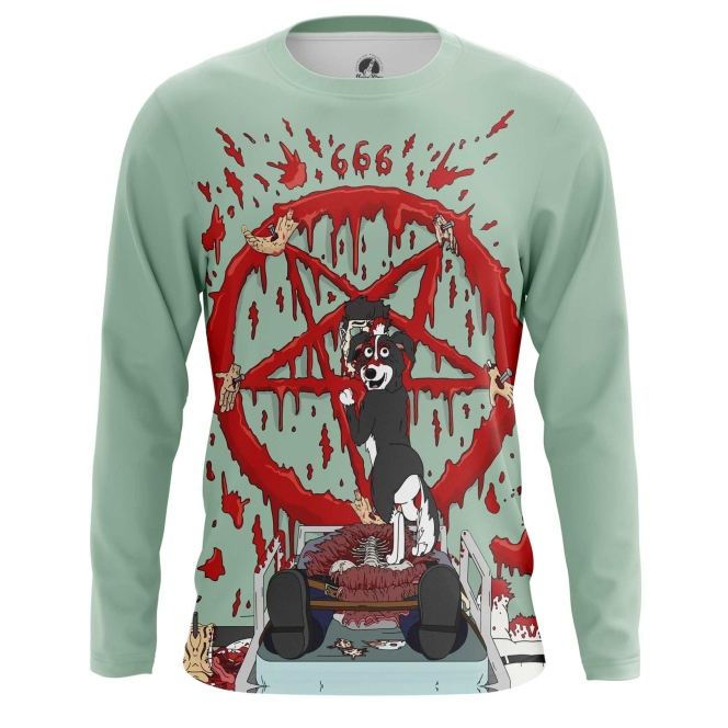 Merchandise Long Sleeve Mr Pickles Worship Satan Sacrifice