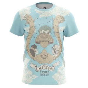 Merchandise - T-Shirt Castle In Sky Hayao Miyazaki