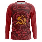 Collectibles Long Sleeve Ussr Red Hammer And Sickle