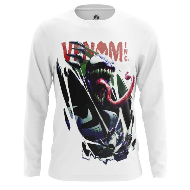Merch Men'S Long Sleeve Venom Symbiote 2018
