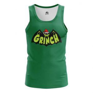 Merch Tank Grinch Batman Christmas Vest