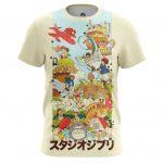 Merch - T-Shirt Characters Ghibli Hayao Miyazaki