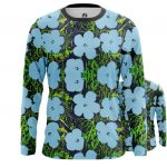 Collectibles Long Sleeve Andy Warhol Flowers Artwork Art