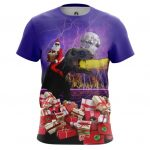 Merch T-Shirt Holidays Are Coming Christmas