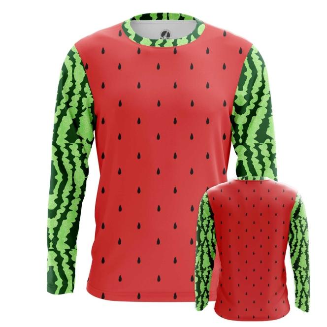 Merchandise Long Sleeve Watermelon Pattern Art Fruit