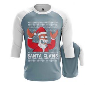 Collectibles Raglan Santa Claws Futurama Zoidberg Christmas X-Mas
