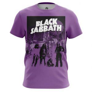 Merch Men'S T-Shirt Black Sabbath Fan Band
