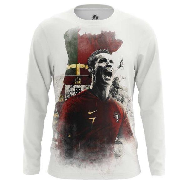 cheaper 0f254 f0c2d Men's long sleeve Cristiano Ronaldo Illustration Fan art