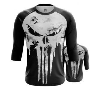 Collectibles Raglan Punisher Skull Logo Full Body Inspired Clothing