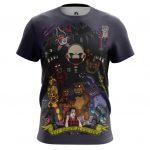 Merch Men'S T-Shirt 5 Nights At Freddy'S