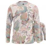 Merchandise Long Sleeve Japanese Dragon Pattern Asian Mythology