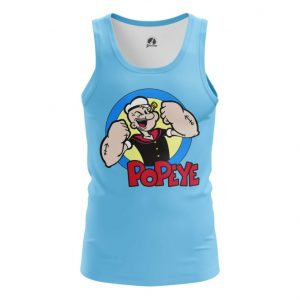 Collectibles Tank Popeye Sailor Muscles Art Vest