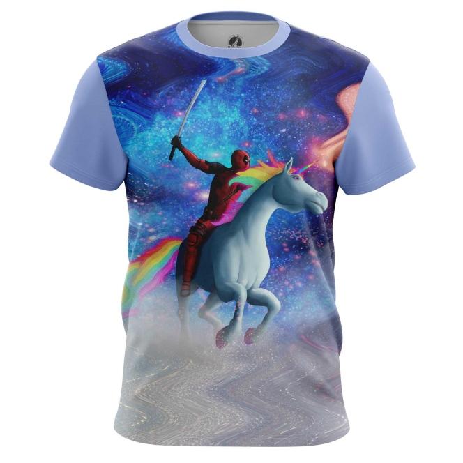 Merchandise Men'S T-Shirt Unicorn Deadpool Merch