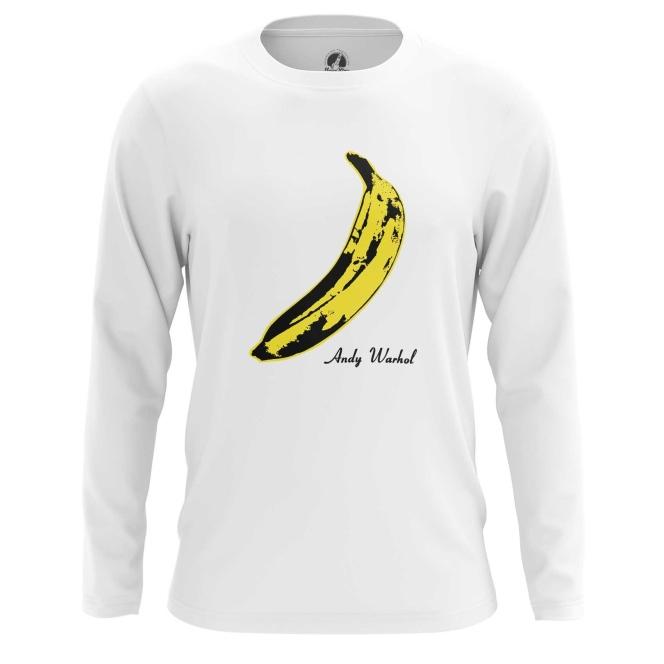 Merch Long Sleeve Andy Warhol Banana Velvet Underground