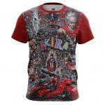 Merchandise T-Shirt Akira Thriller Post-Apocalyptic