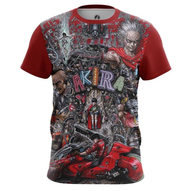 Merch T-Shirt Akira Thriller Post-Apocalyptic