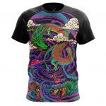 Collectibles - T-Shirt Dragon Trip Acid Art Paint