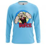 Collectibles Long Sleeve Popeye Sailor Muscles