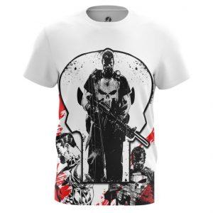Merch T-Shirt Punisher Frank Castle Inspired Clothing