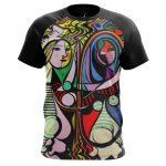 Collectibles - T-Shirt Girl Before A Mirror Fine Art Artwork