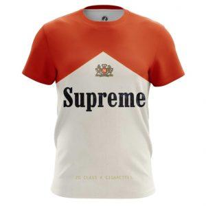 Merchandise T-Shirt Supreme Sign Cigarettes Marlboro