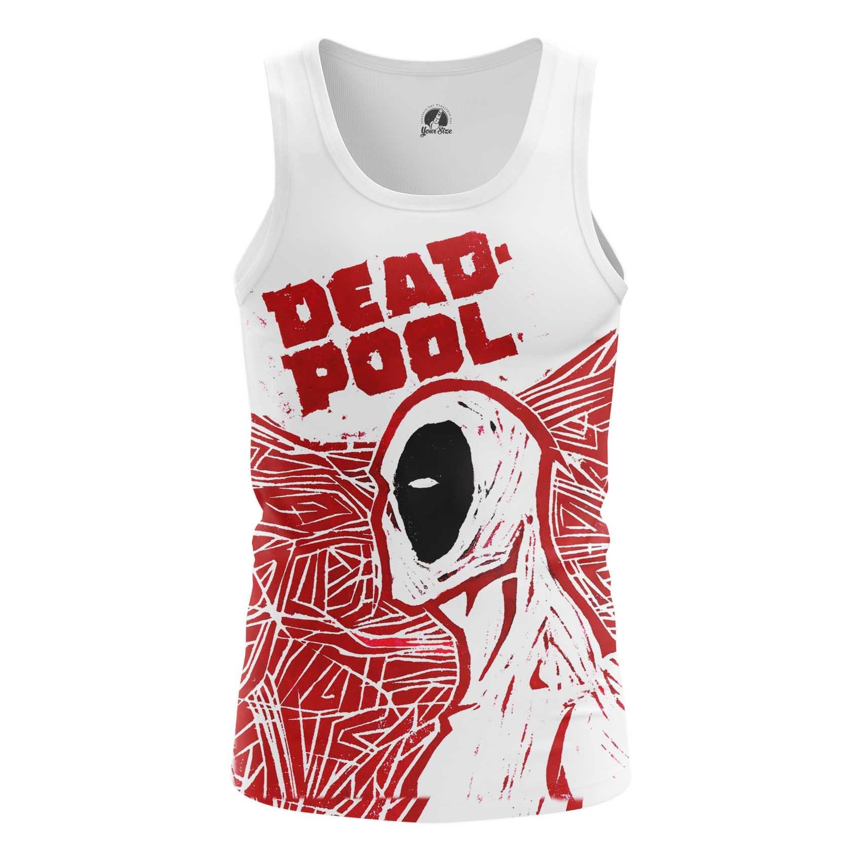 Merchandise Men'S T-Shirt Deadpool Art Painted Picture Cartoon