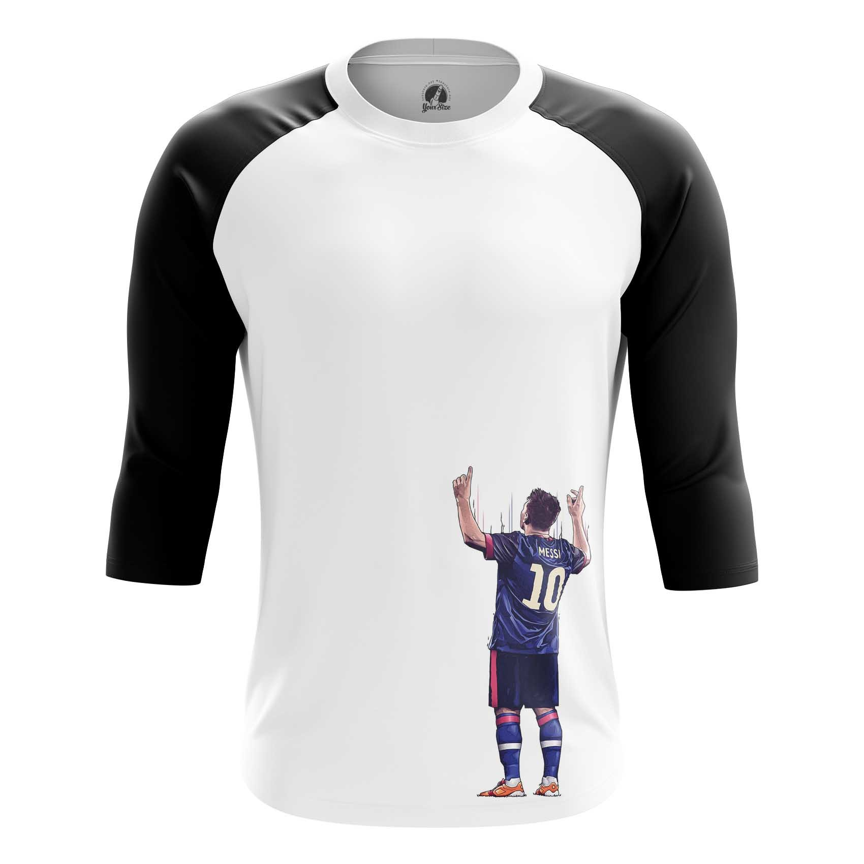 Merch Men'S Long Sleeve Lionel Messi Fan Art 10
