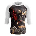 Collectibles - Men'S Raglan Star Lord Guardians Of Galaxy