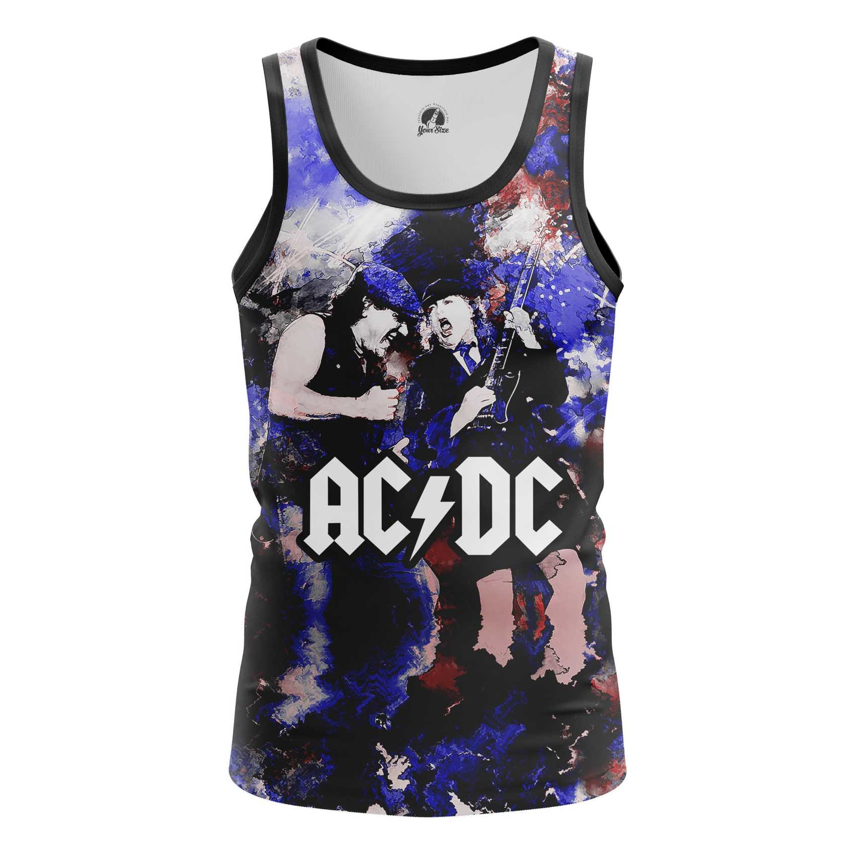 Collectibles Long Sleeve Ac Dc Fan Art Illustration