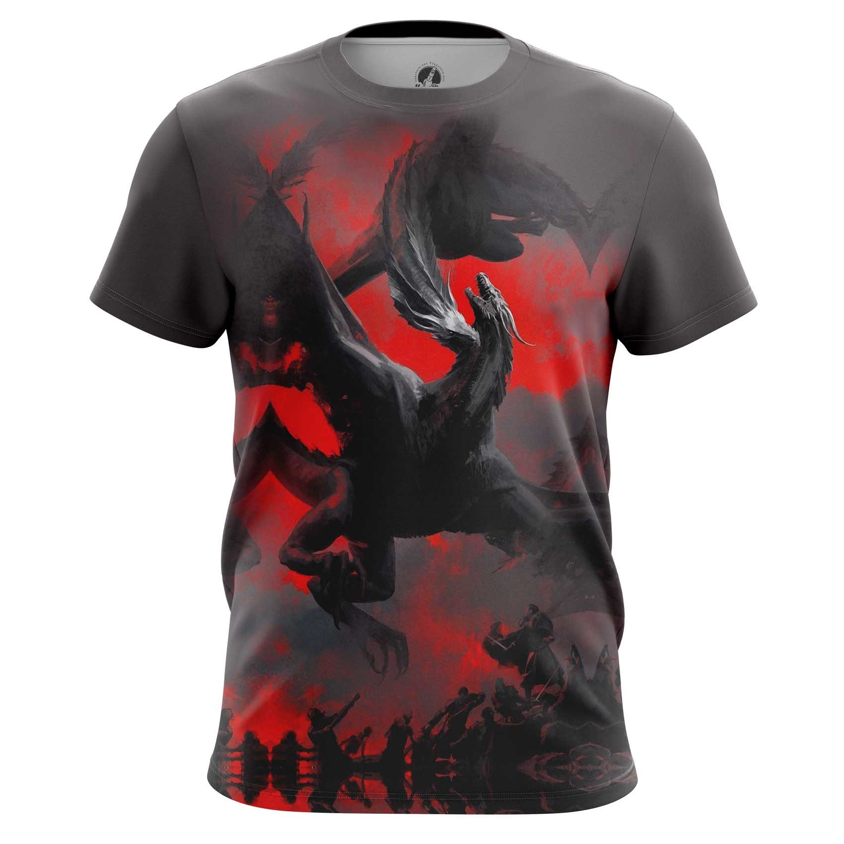 Merchandise Long Sleeve Dragon Fight Monster Art Illustration