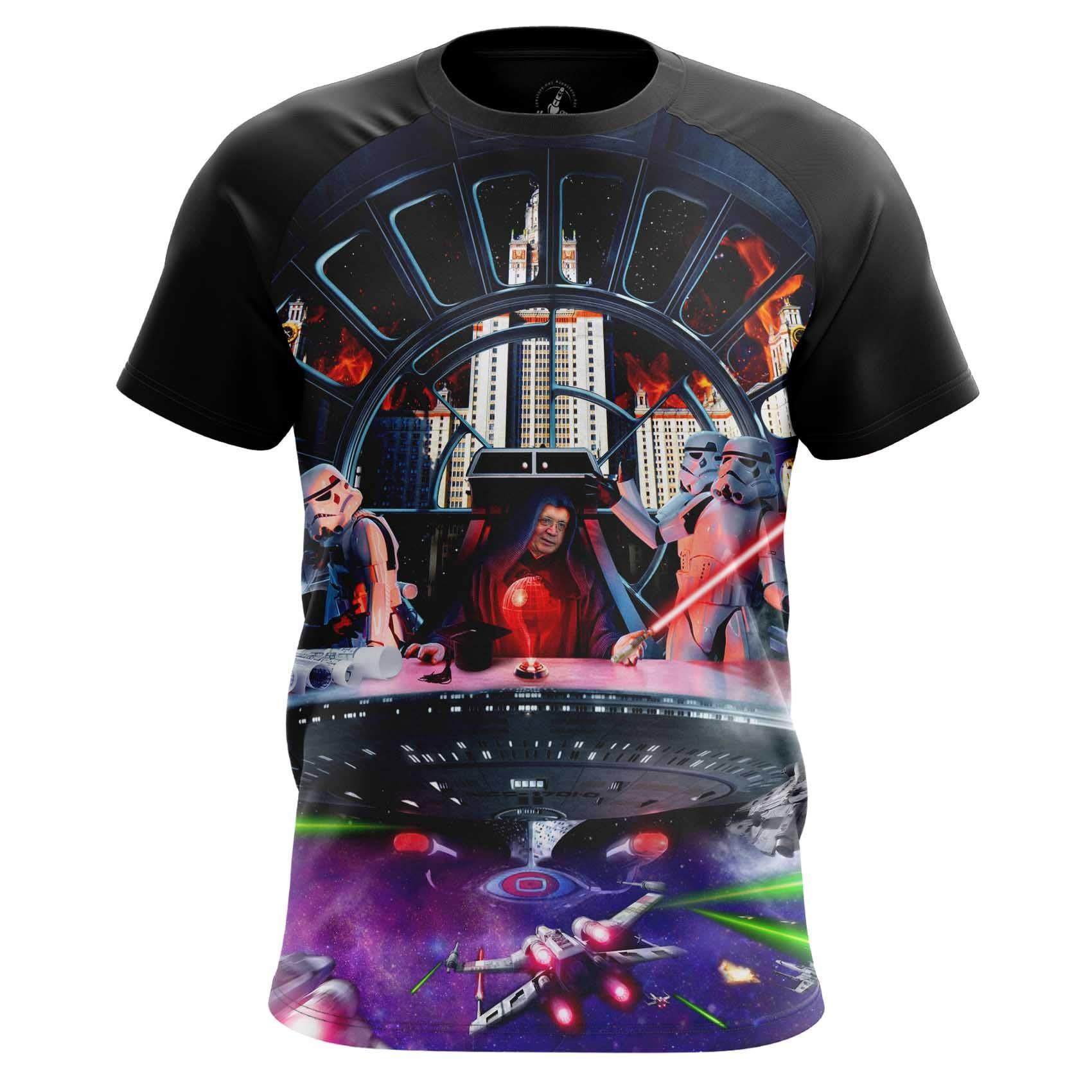 Merchandise Men'S Tank Msu Strikes Back Star Wars Sith Shirt Vest