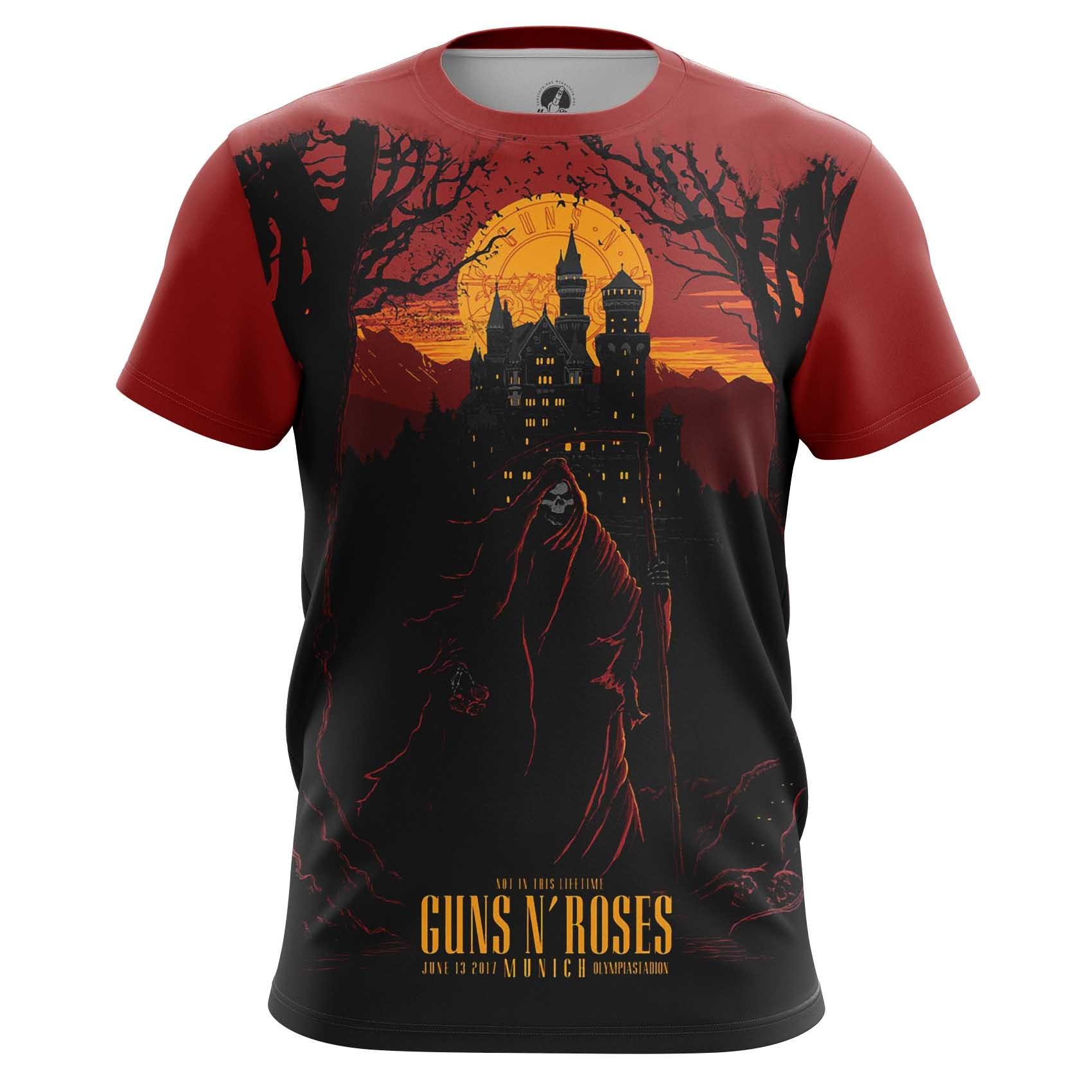 Merch Men'S T-Shirt Guns N' Roses Fan Art Tee