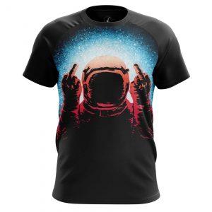 Merch Men'S T-Shirt Fuck Space Astronaut