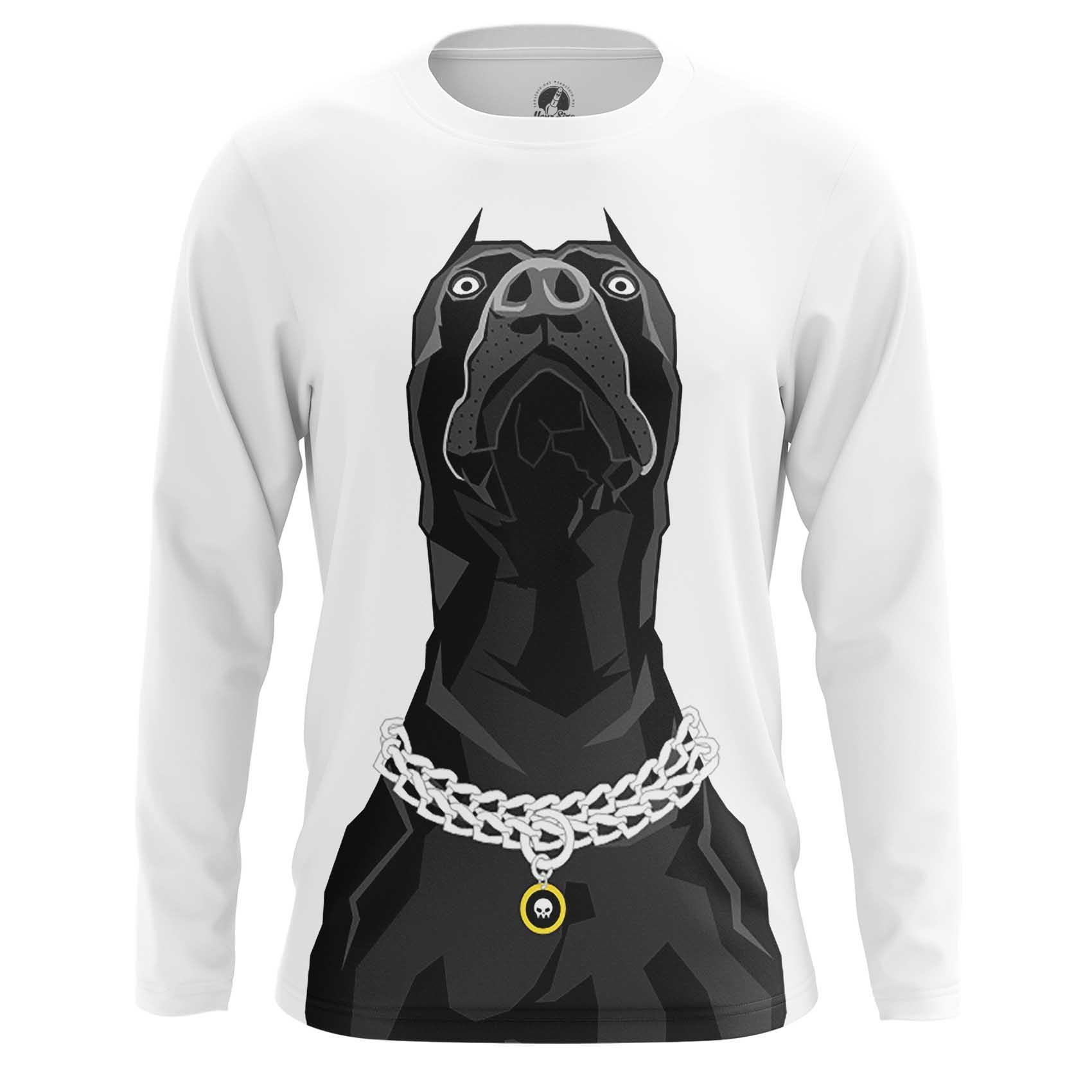 Merchandise Long Sleeve Pit Bull Terrierandise Art Fan