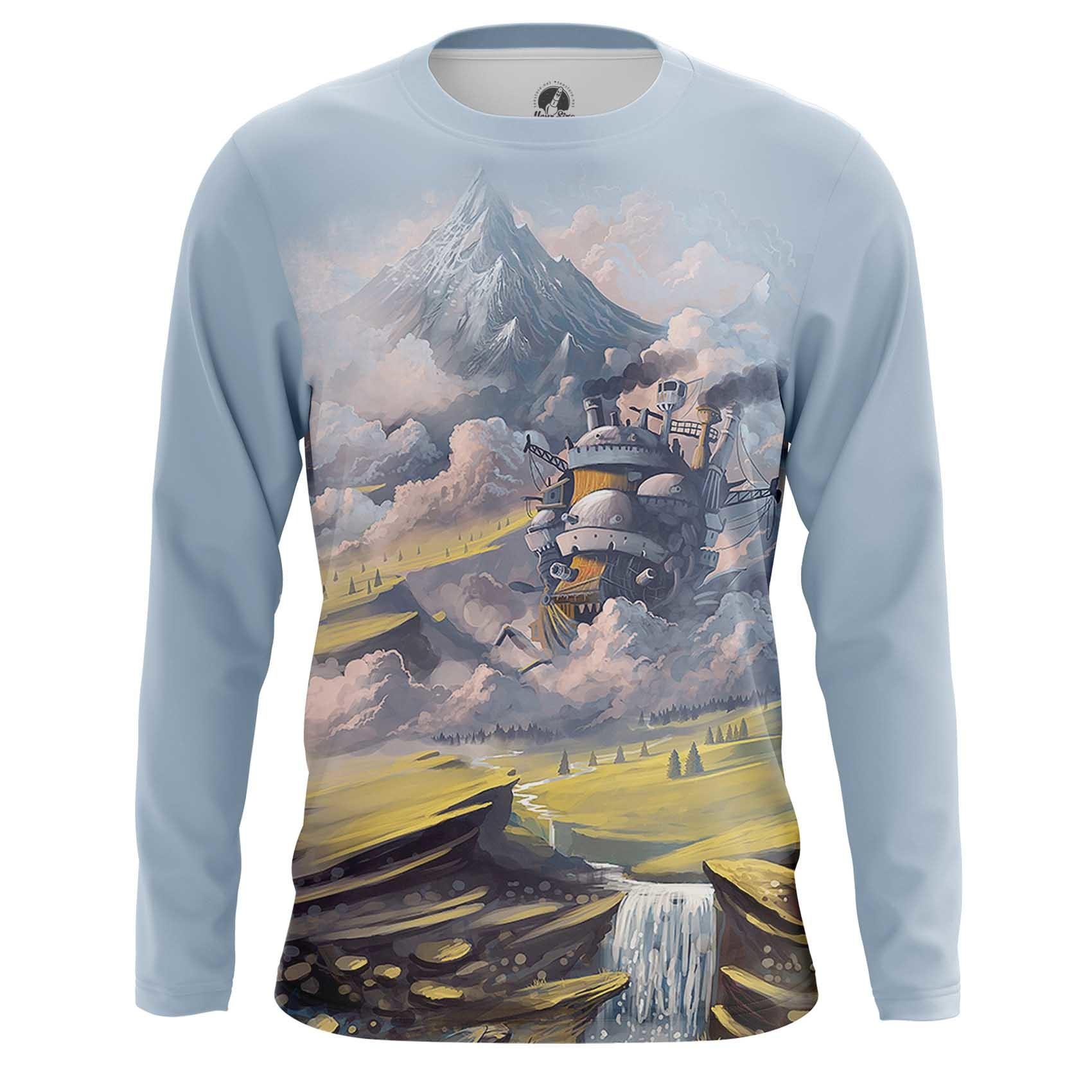 Merch Howl'S T-Shirt Moving Castle Ghibli Studio