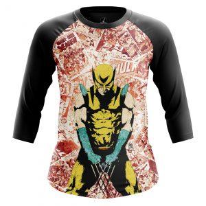 Merchandise Women'S Raglan Wolverine 2 Logan Xmen 2